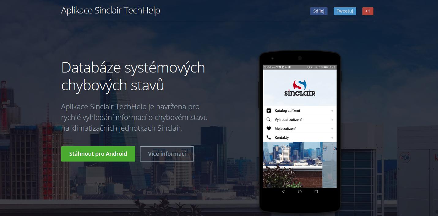App Sinclair TechHelp