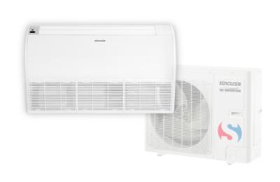parapetní klimatizace vhodná pro umístění pod okenní parapet