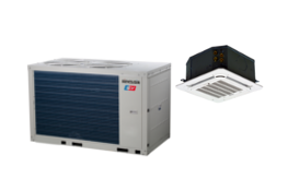 Chillers and <br>fan coil units