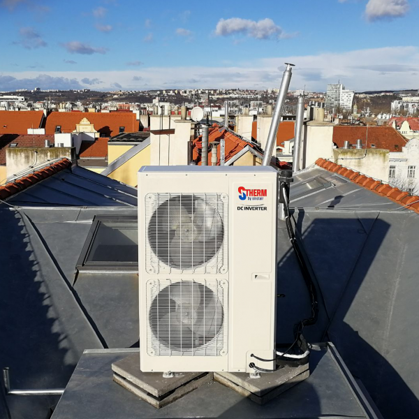 S-THERM 3 heat pump for an apartment in Prague