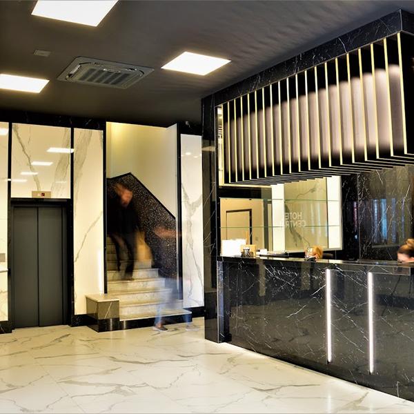 Hotel Central Plzeň Kereskedelmi rendszer