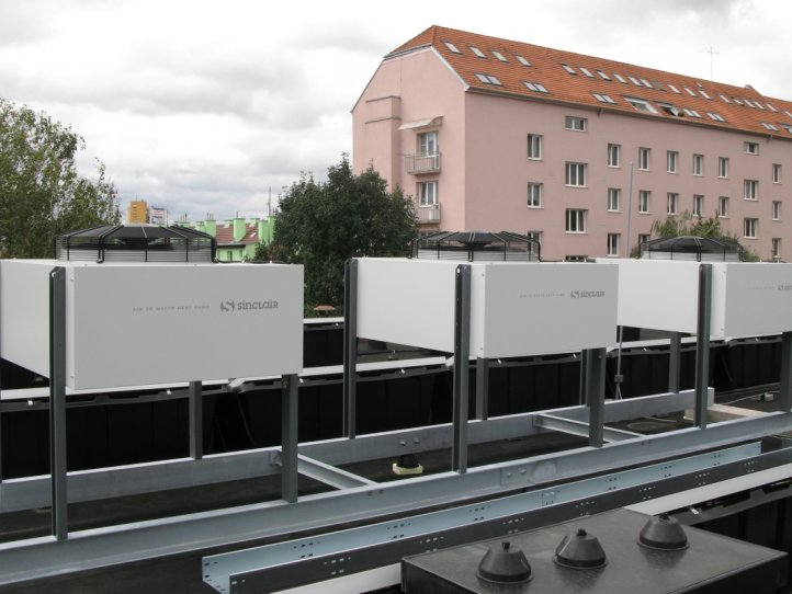 Heat pumps S-THERM+ for private company