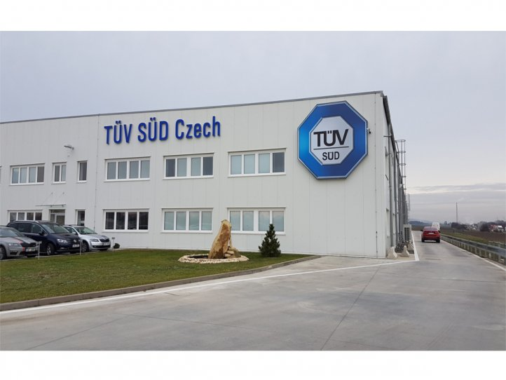 TÜV SÜD испытательный центр (Crash center)