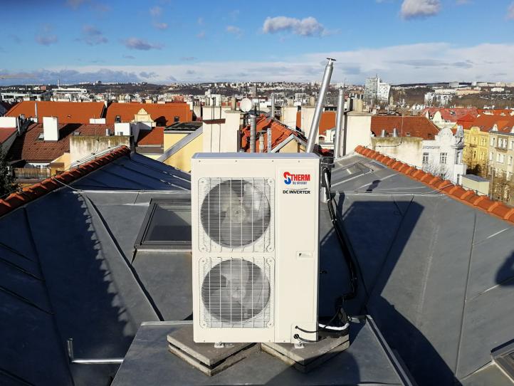 Tepelné čerpadlo S-THERM 3 pre byt v Prahe